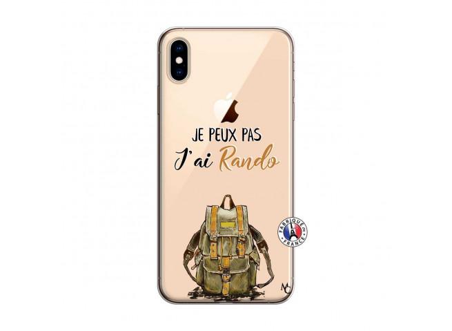 Coque iPhone XS MAX Je Peux Pas J Ai Rando