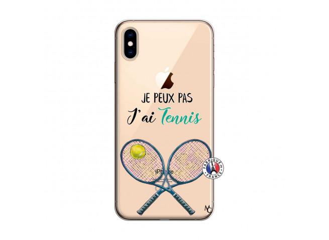 Coque iPhone XS MAX Je Peux Pas J Ai Tennis