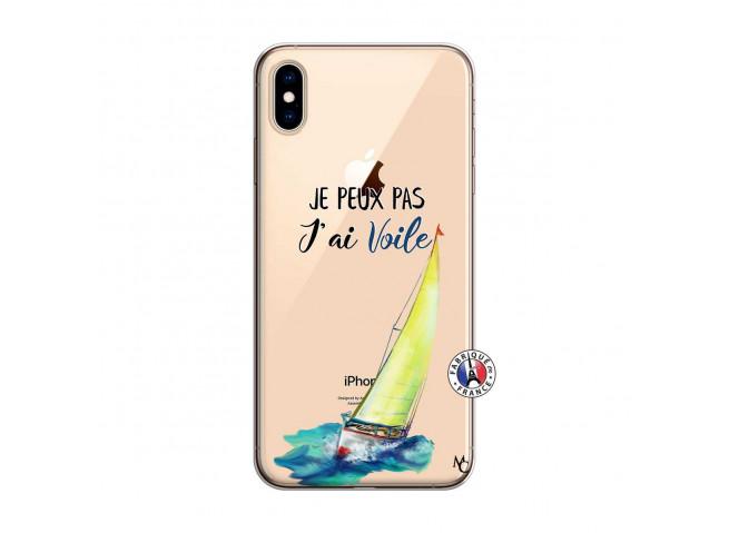 Coque iPhone XS MAX Je Peux Pas J Ai Voile