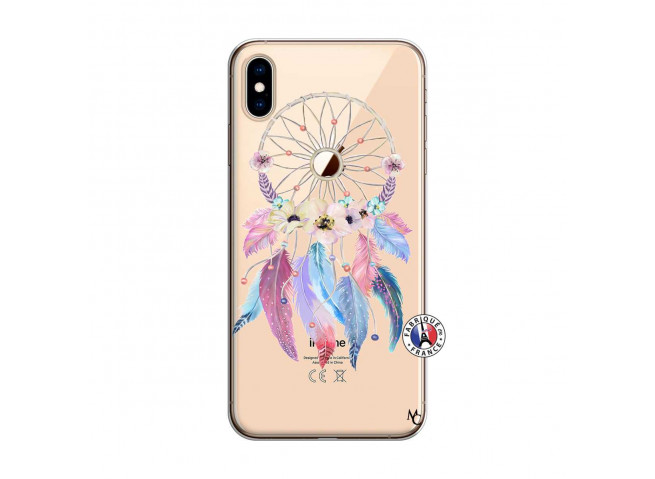 Coque iPhone XS MAX Multicolor Watercolor Floral Dreamcatcher
