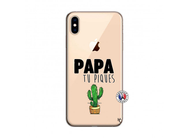 Coque iPhone XS MAX Papa Tu Piques