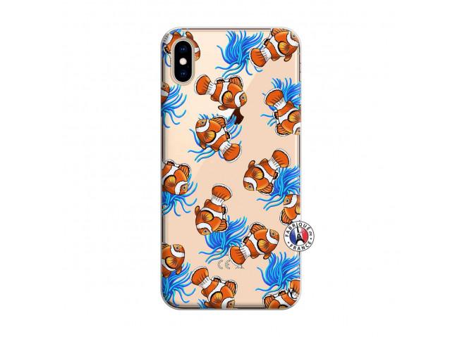 Coque iPhone XS MAX Poisson Clown