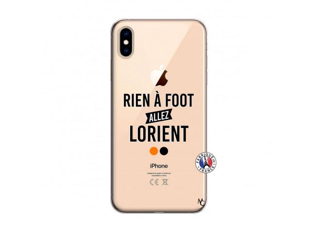 Coque iPhone XS MAX Rien A Foot Allez Lorient