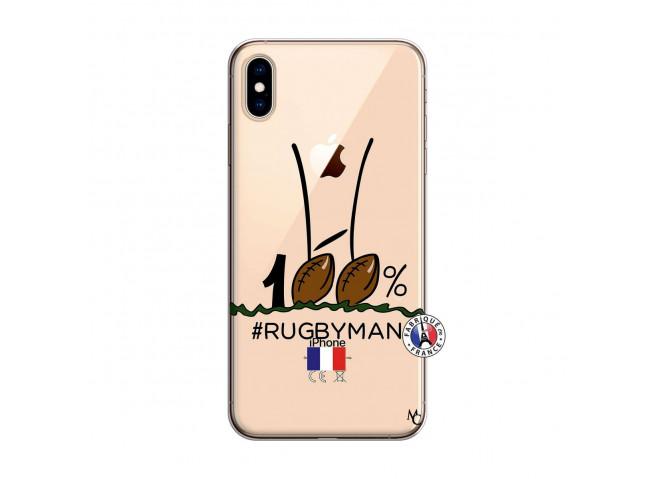 Coque iPhone XS MAX 100 % Rugbyman Entre les Poteaux