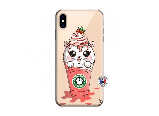 Coque iPhone XS MAX Catpucino Ice Cream