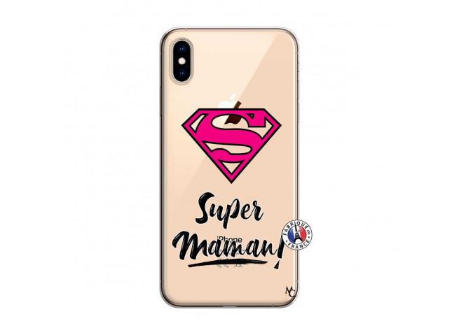 Coque iPhone XS MAX Super Maman