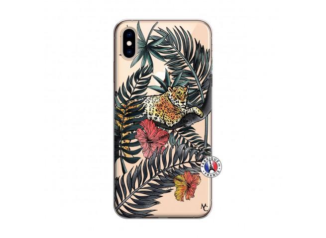 Coque iPhone XS MAX Leopard Tree