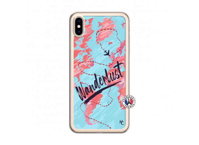 Coque iPhone XS MAX Wanderlust Translu