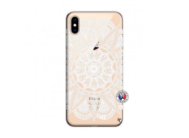 Coque iPhone XS MAX White Mandala