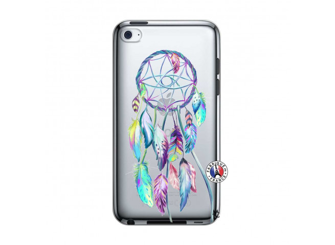 Coque iPod Touch 4 Blue Painted Dreamcatcher