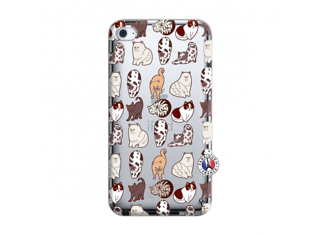 Coque iPod Touch 4 Cat Pattern