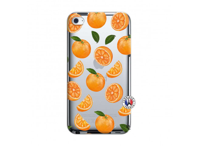 Coque iPod Touch 4 Orange Gina