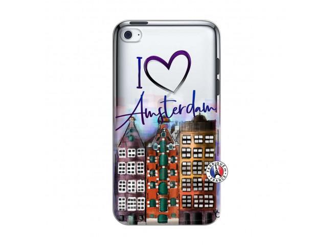 Coque iPod Touch 4 I Love Amsterdam