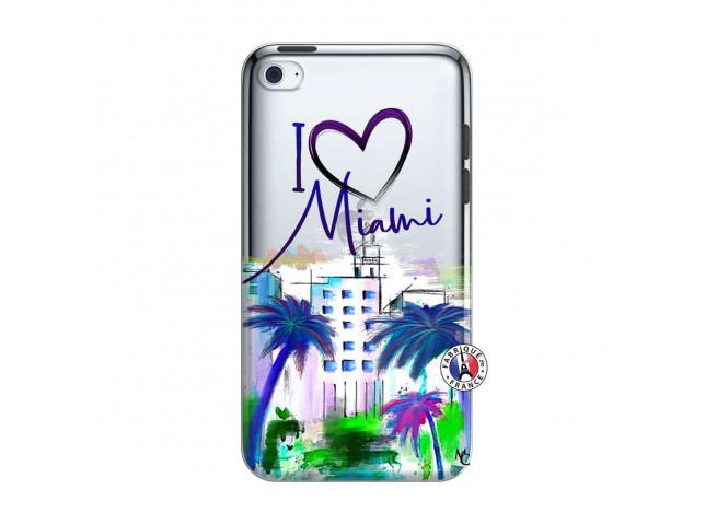 Coque iPod Touch 4 I Love Miami