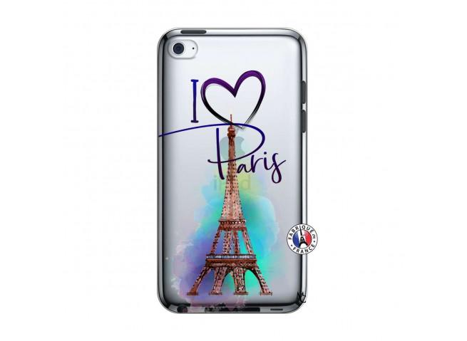 Coque iPod Touch 4 I Love Paris