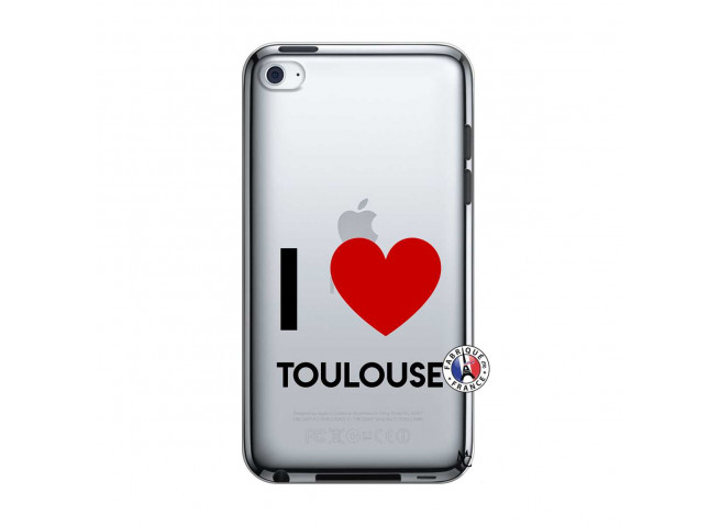 Coque iPod Touch 4 I Love Toulouse