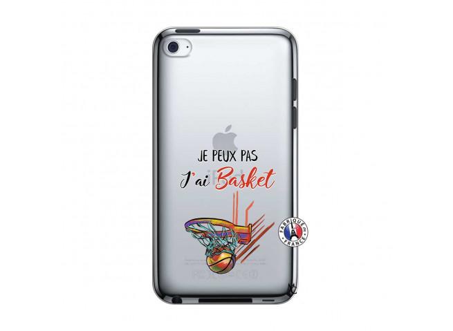Coque iPod Touch 4 Je Peux Pas J Ai Basket