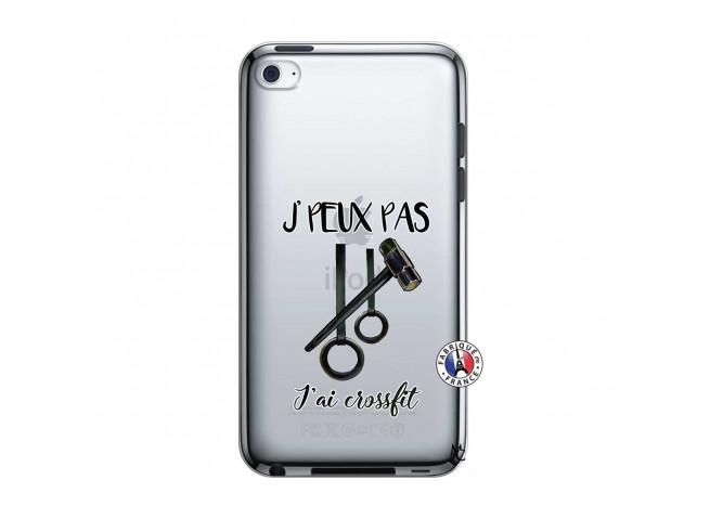 Coque iPod Touch 4 Je peux pas j'ai crossfit