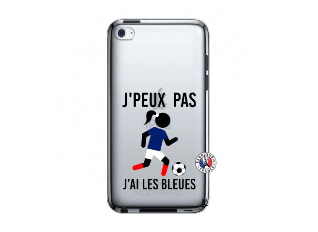 Coque iPod Touch 4 Je Peux Pas J Ai Les Bleues