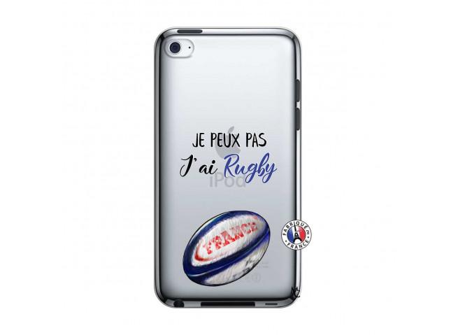 Coque iPod Touch 4 Je Peux Pas J Ai Rugby