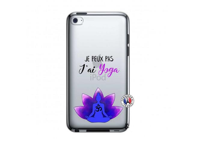 Coque iPod Touch 4 Je Peux Pas J Ai Yoga