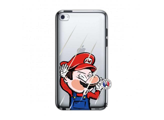 Coque iPod Touch 4 Mario Impact