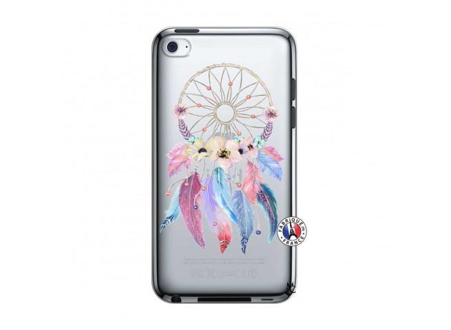 Coque iPod Touch 4 Multicolor Watercolor Floral Dreamcatcher