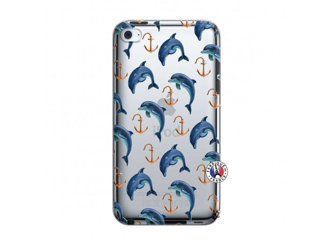 Coque iPod Touch 4 Dauphins
