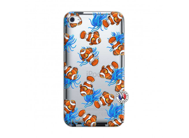 Coque iPod Touch 4 Poisson Clown