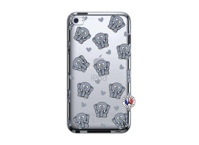 Coque iPod Touch 4 Petits Elephants