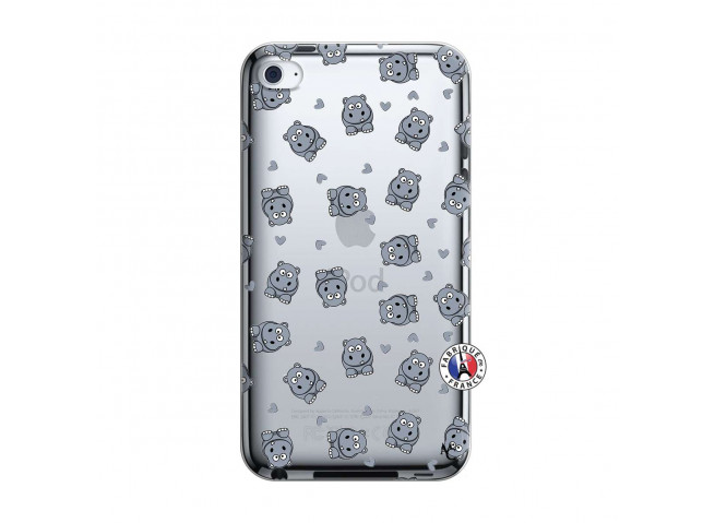 Coque iPod Touch 4 Petits Hippos