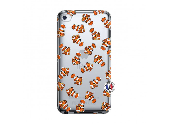 Coque iPod Touch 4 Petits Poissons Clown