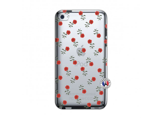 Coque iPod Touch 4 Rose Pattern