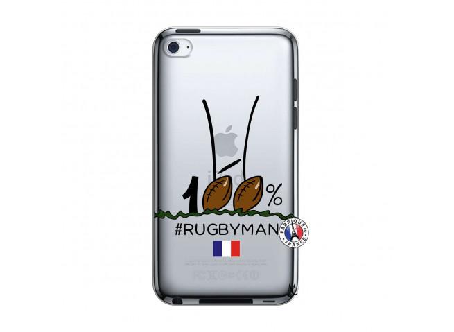 Coque iPod Touch 4 100 % Rugbyman Entre les Poteaux