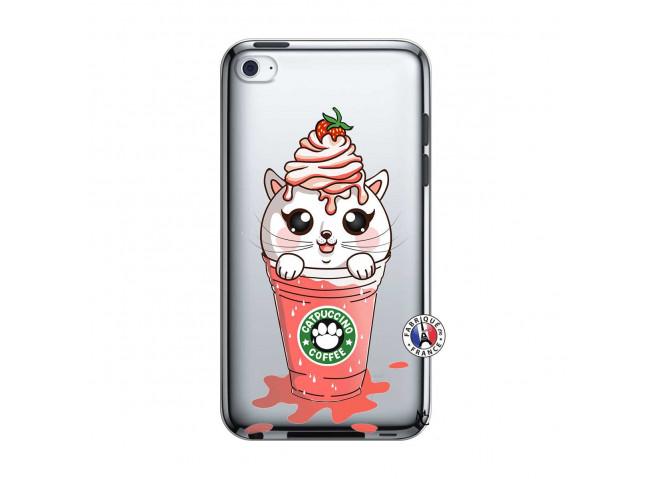 Coque iPod Touch 4 Catpucino Ice Cream