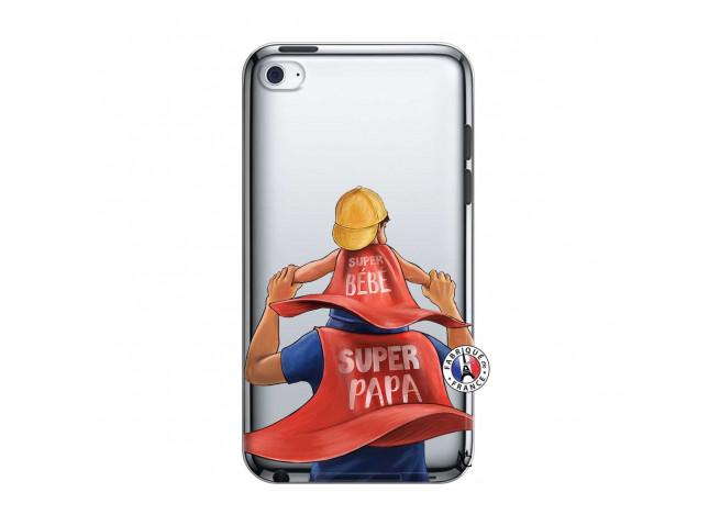 Coque iPod Touch 4 Super Papa et Super Bébé