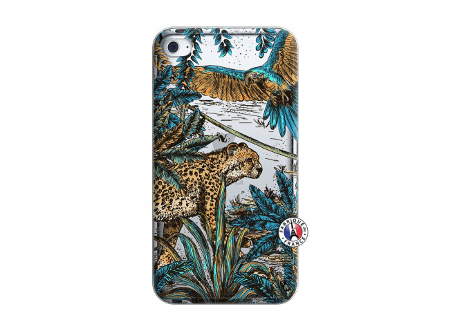 Coque iPod Touch 4 Leopard Jungle