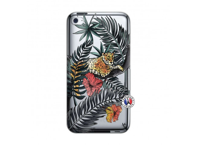 Coque iPod Touch 4 Leopard Tree