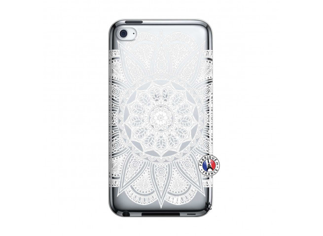 Coque iPod Touch 4 White Mandala
