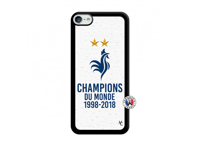Coque iPod Touch 5/6 Champion Du Monde Noir