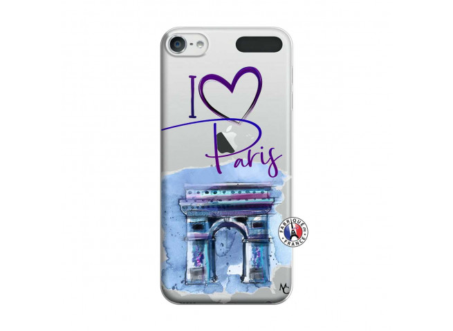 Coque iPod Touch 5/6 I Love Paris Arc Triomphe