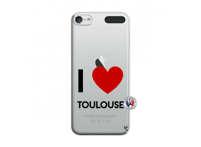 Coque iPod Touch 5/6 I Love Toulouse