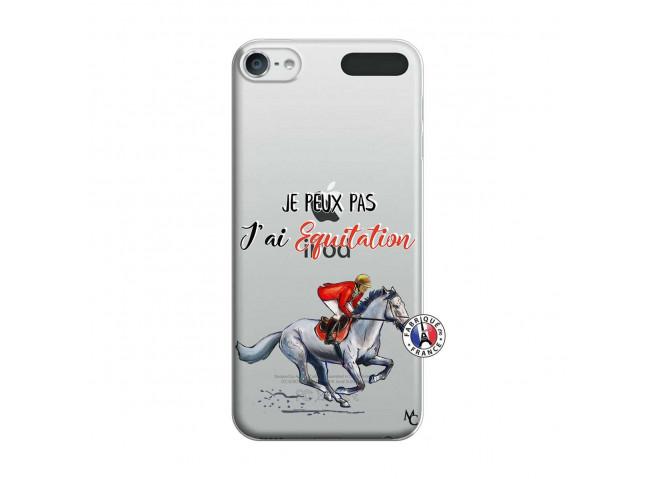 Coque iPod Touch 5/6 Je Peux Pas J Ai Equitation