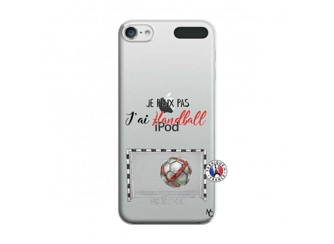 Coque iPod Touch 5/6 Je peux pas j'ai Handball