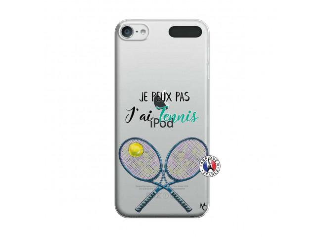 Coque iPod Touch 5/6 Je Peux Pas J Ai Tennis