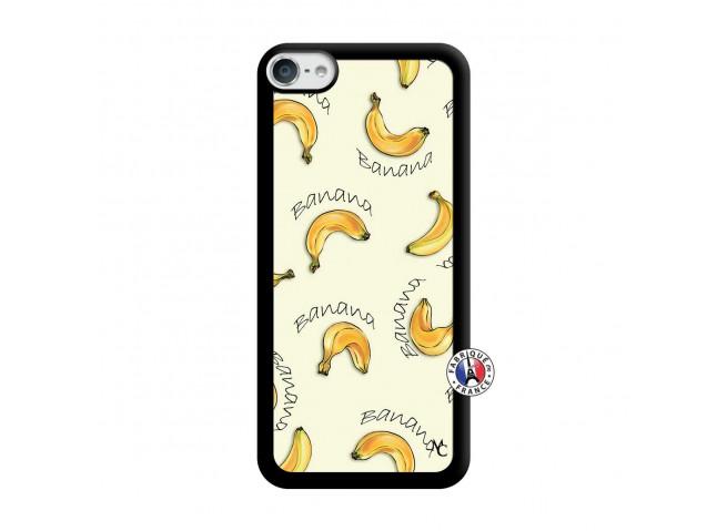 Coque iPod Touch 5/6 Sorbet Banana Split Noir