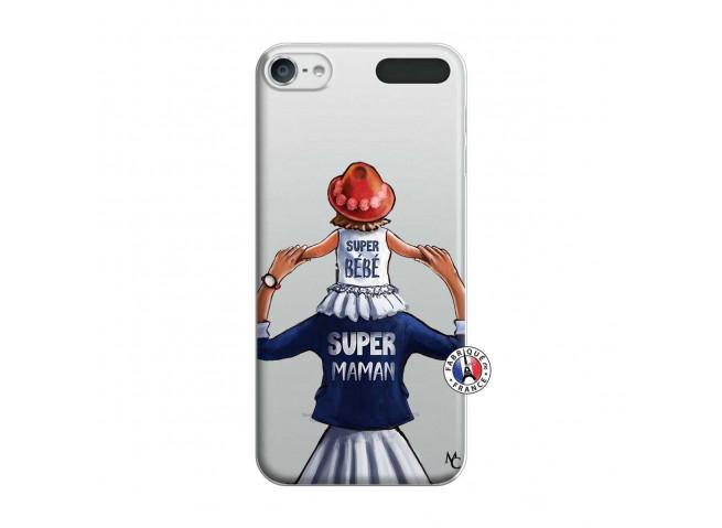 Coque iPod Touch 5/6 Super Maman Et Super Bébé