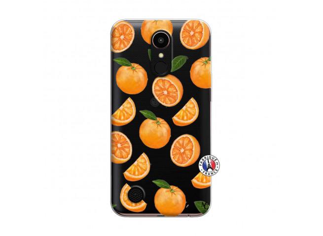 Coque Lg K10 Orange Gina