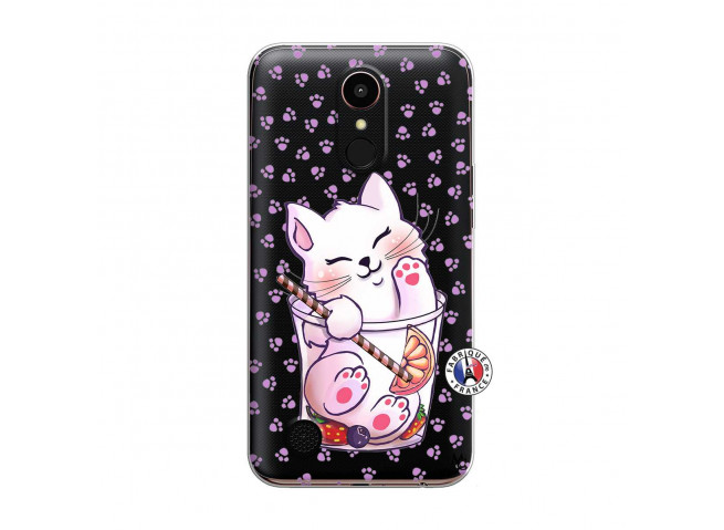 Coque Lg K10 Smoothie Cat