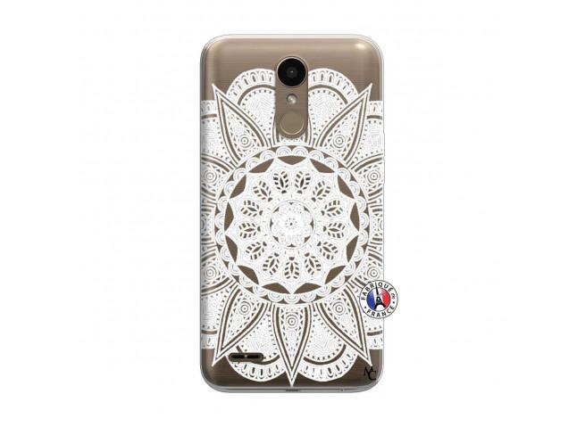 Coque Lg K10 White Mandala